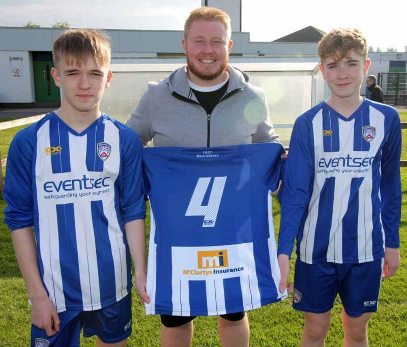 McClartys Insurance Sponsors Local Football Team